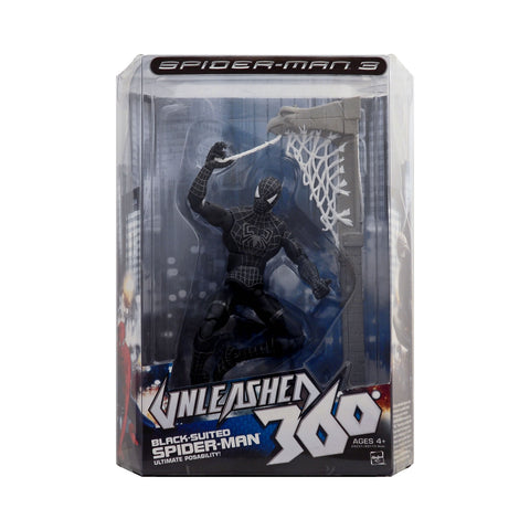 "8"" Black-Suited Spider-Man from Spider-Man Unleashed 360"