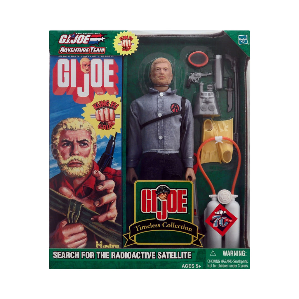 G.I. Joe Adventure Team Search for the Radioactive Satellite