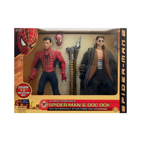 "12"" Super Poseable Spider-Man & Doc Ock from Spider-Man 2"