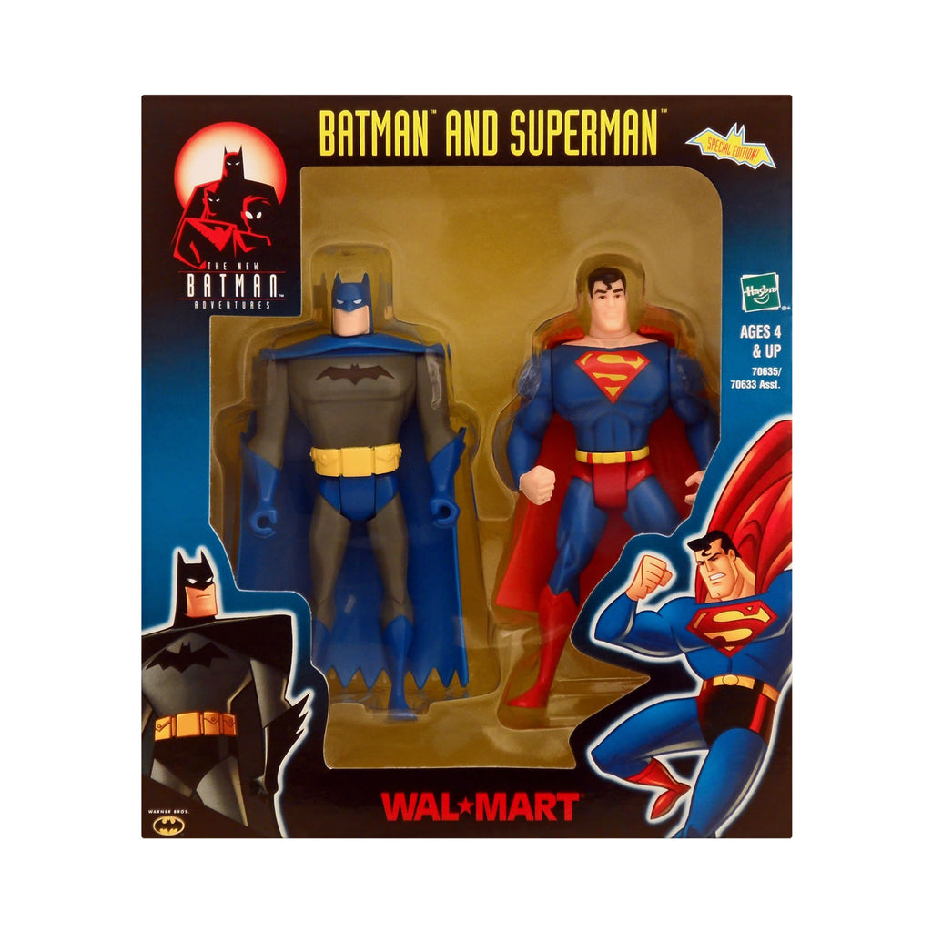 Wal-Mart Exclusive Batman and Superman from The New Batman Adventures