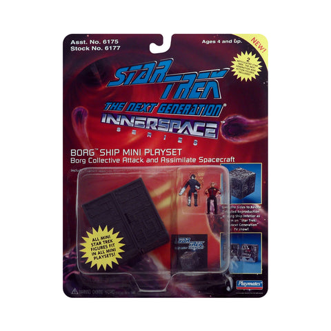 Innerspace Series Borg Ship Mini Playset from Star Trek