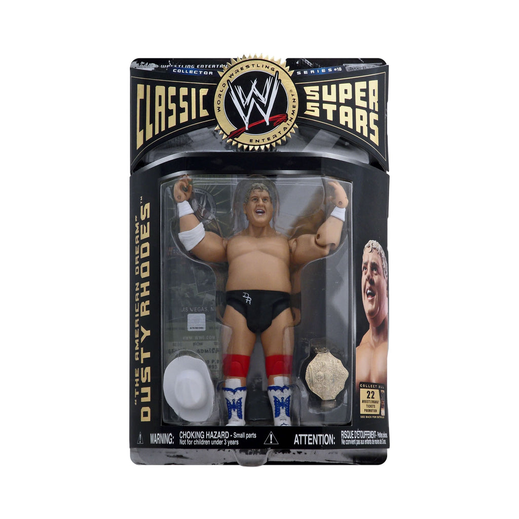 "Classic WWE Superstars Series 10 ""The American Dream"" Dusty Rhodes"