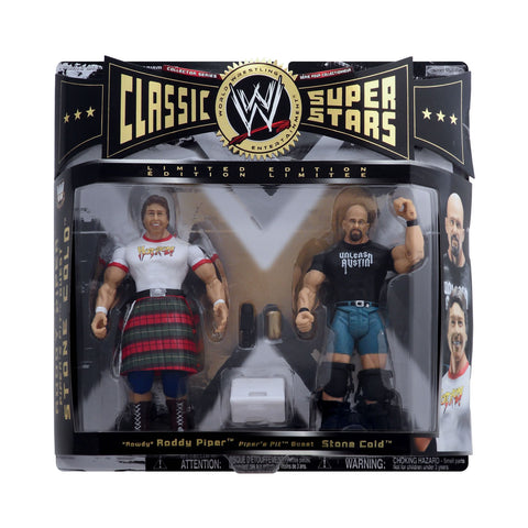"Classic WWE Superstars ""Rowdy"" Roddy Piper & Piper's Pit Guest Stone Cold"