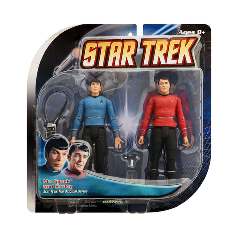 Diamond Select Toys Mr. Spock and Scotty from Star Trek: The Original Series