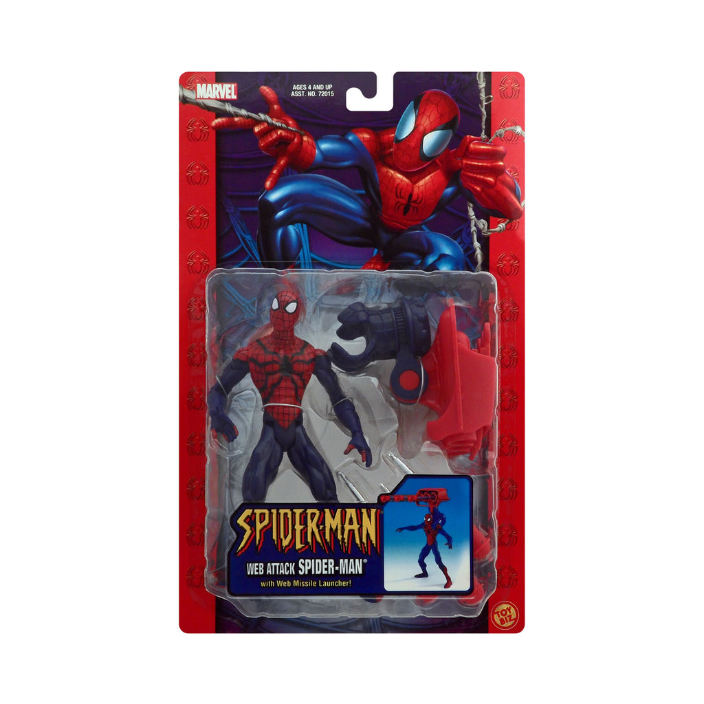 Web Attack Spider-Man with Web Missile Launcher