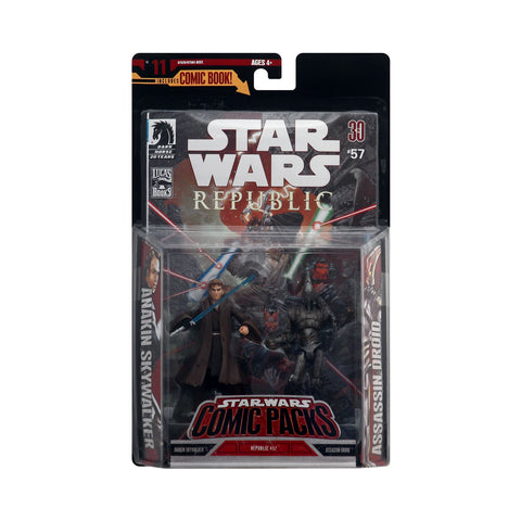 Star Wars Anakin Skywalker & Assassin Droid Comic Pack