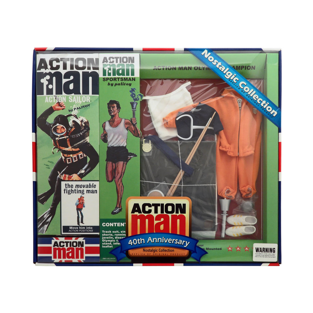 40th Anniversary Action Man Nostalgic Collection Olympic Champion