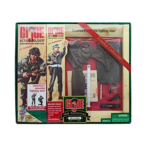 G.I. Joe 40th Anniversary Action Soldier with Military Police 5th Set in a Series