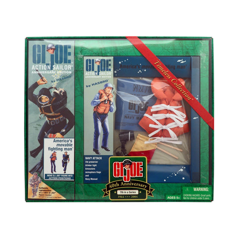 G.I. Joe 40th Anniversary Action Sailor with Navy Attack 7th Set in a Series