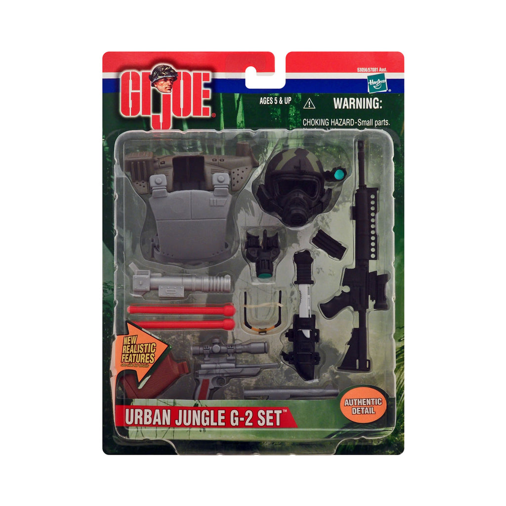 G.I. Joe Battle Gear Urban Jungle G-2 Set