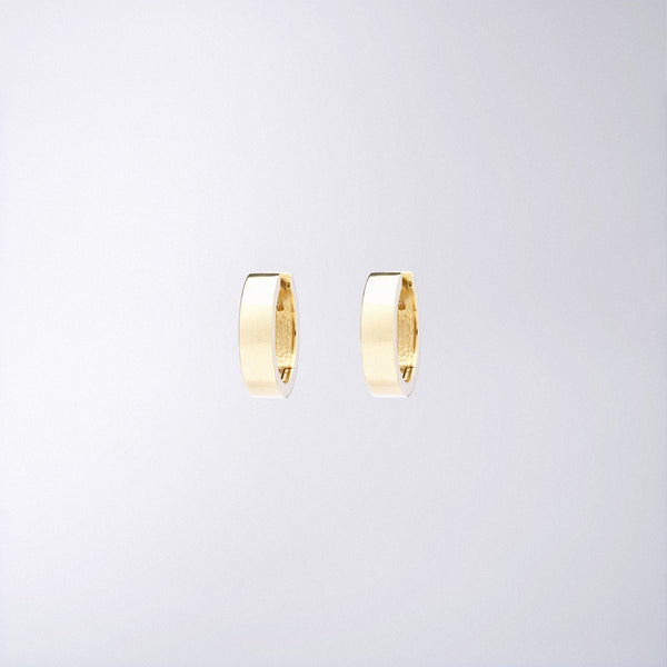 Yellow Gold Huggie Hoops