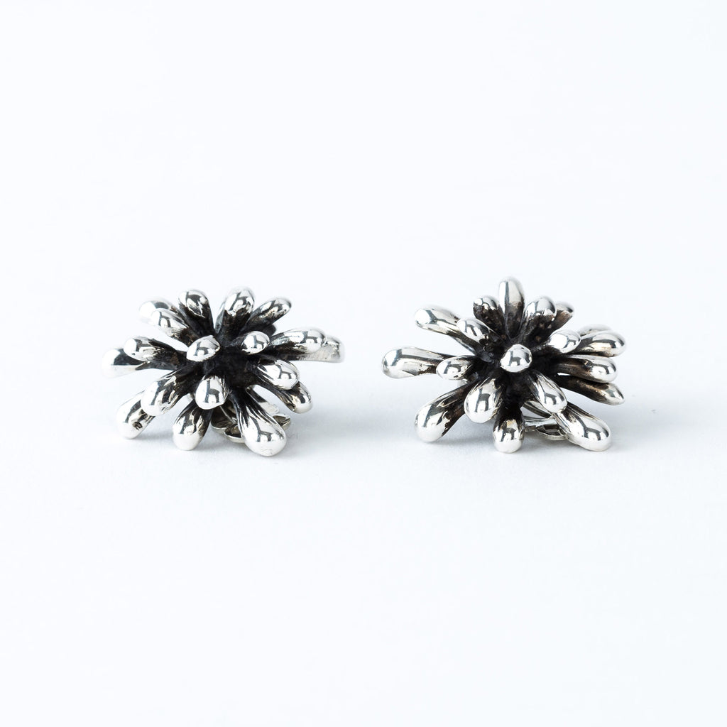 Sterling Silver Firework Earrings