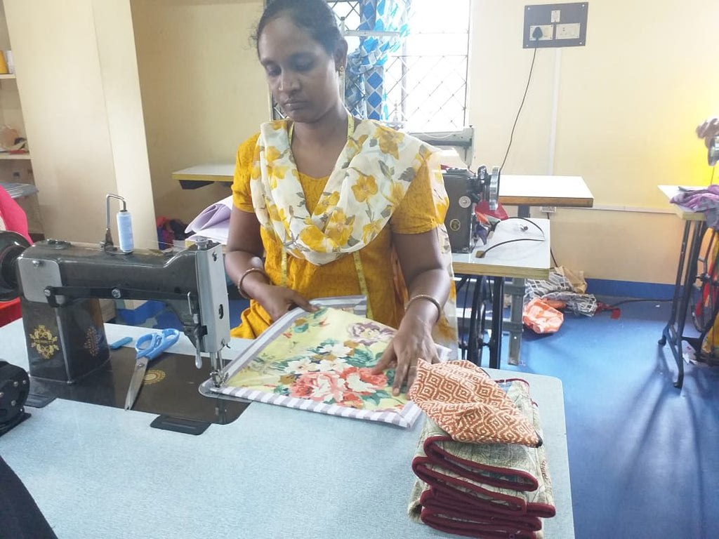 Meet Sunita, our sewing-in-chief