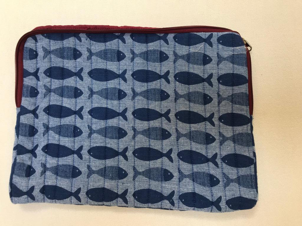 iPad Cover - Fishy Blue