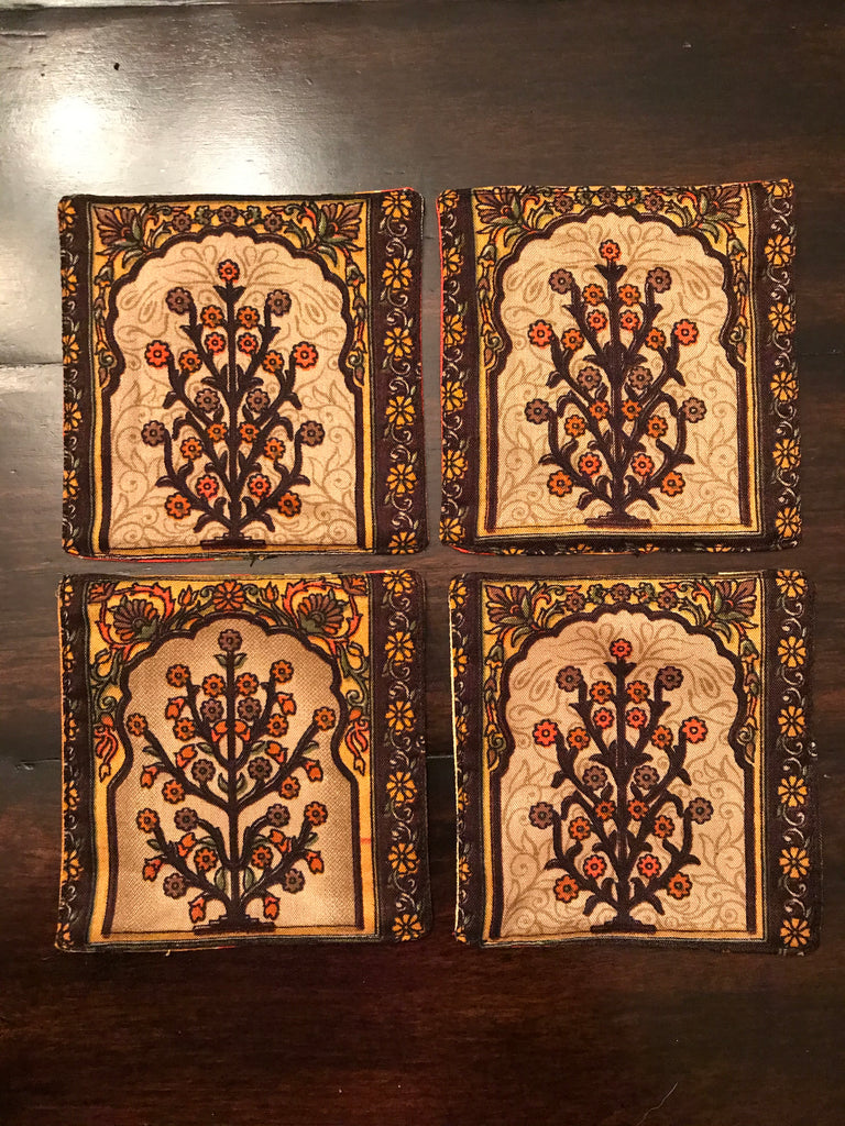 Printed Remnant Coasters (Set of 4)