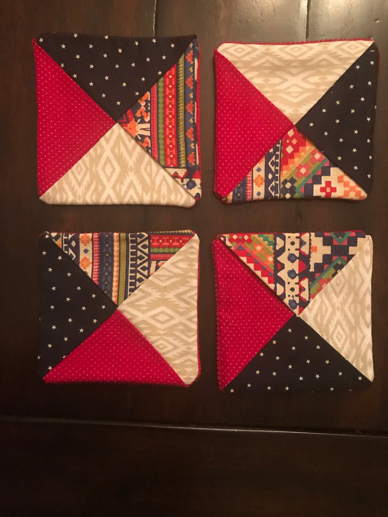 Colorful Coasters (Set of 4)
