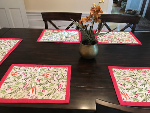 Vegetable Tablemats
