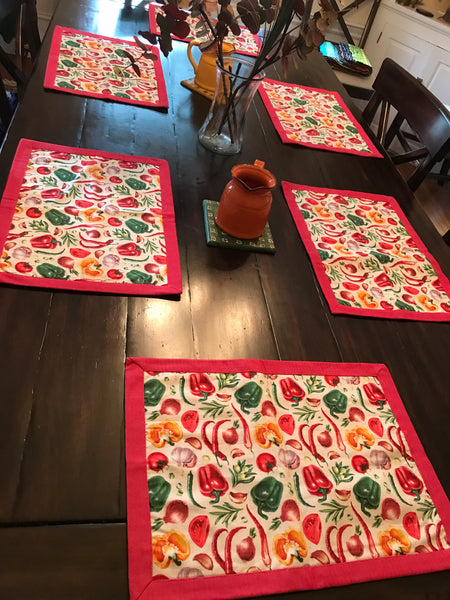 Peppers Tablemats