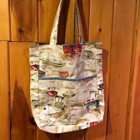 Boats Shopping Bag