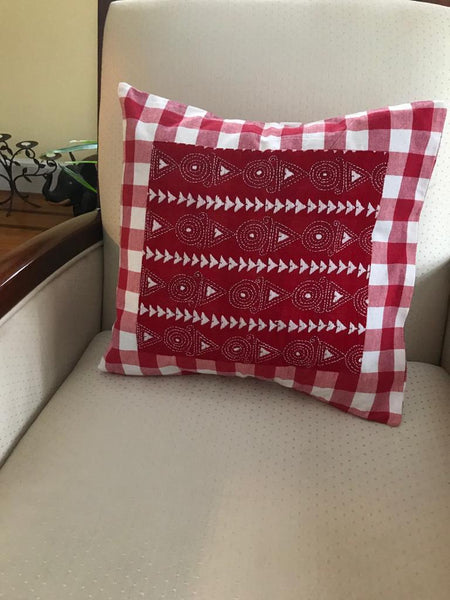 Kantha Line - Cushion Covers