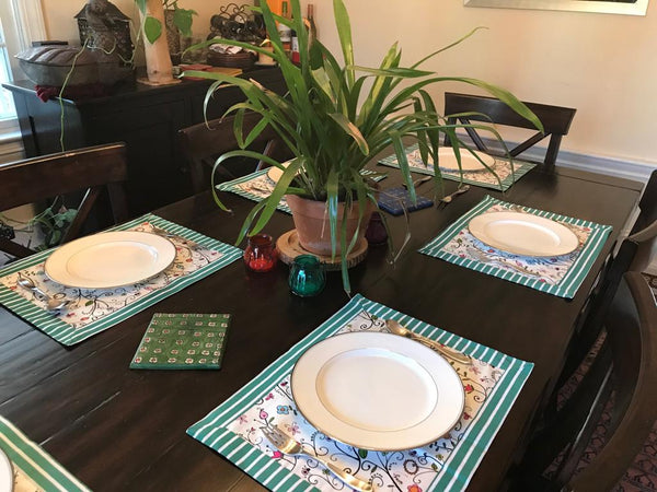 Spring Flower Tablemats