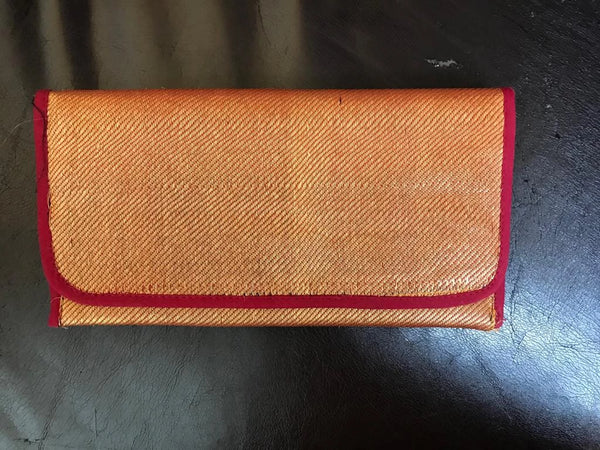 Silk Clutch - Gold