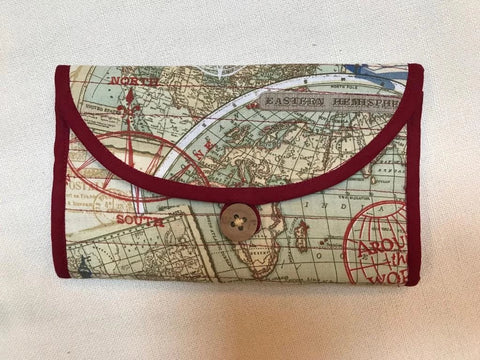 Mappy Passport Holder