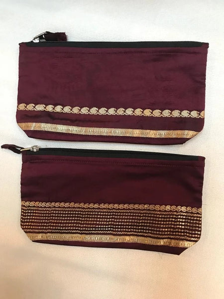 Silk Saree Pencil/Eyeglass Case