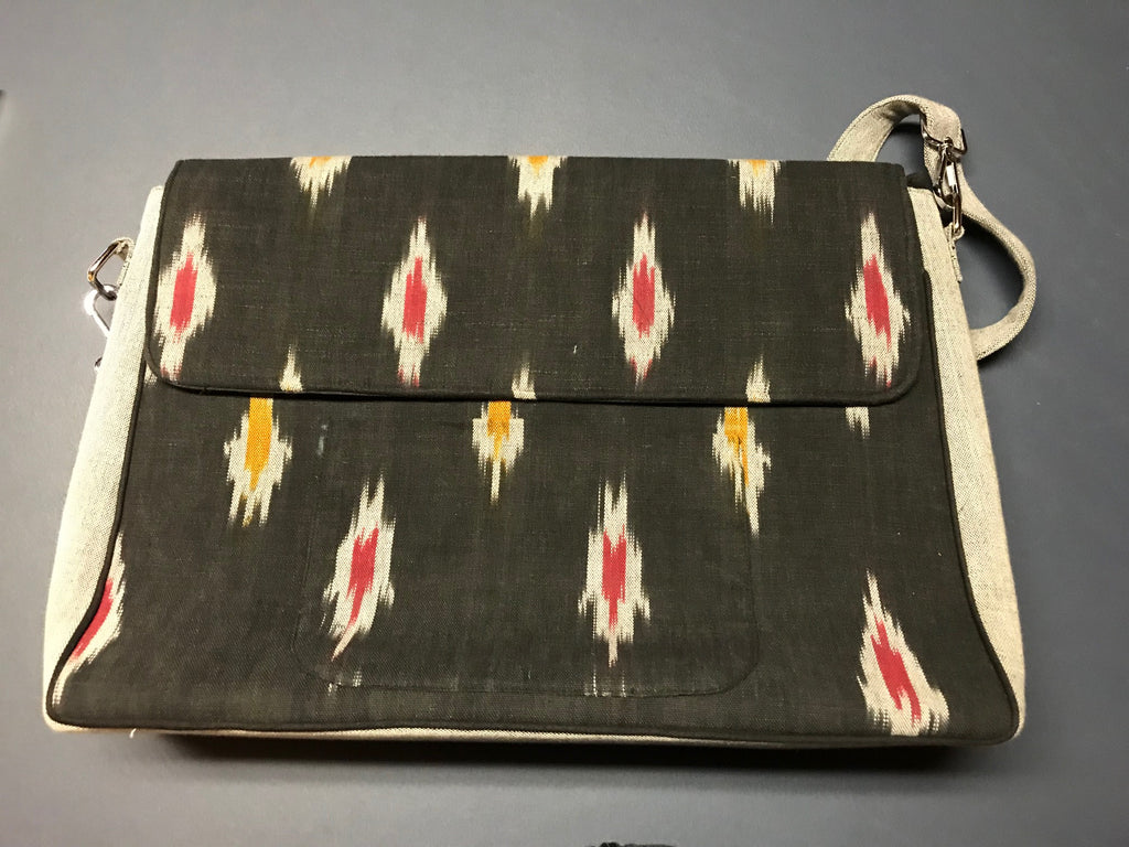 Exotic IKAT Briefcase