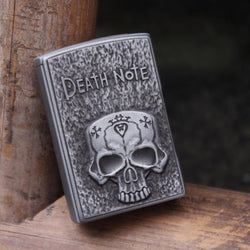 Novelty Death Note Vintage Skull Windproof Cigarette Lighter