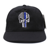 Awesome Thin Blue Line Skull Baseball Cap