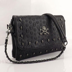 Vintage Fashionable Skull Women's Rivet Bag