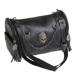 Impressive Women's Skull Shoulder Bag