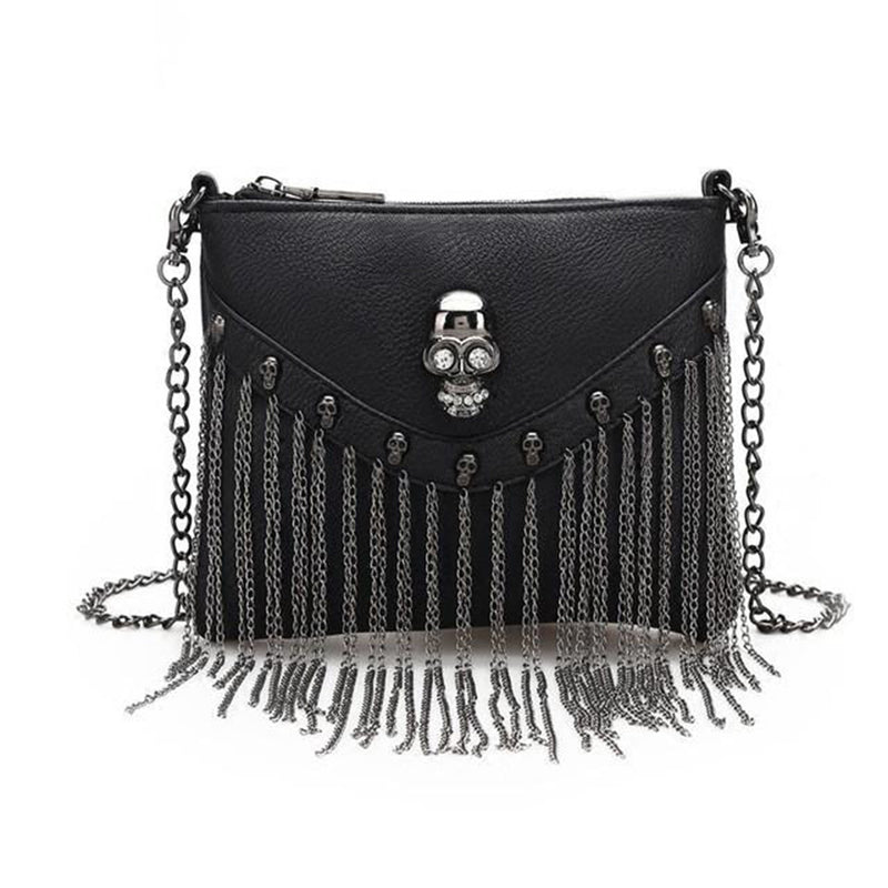 Skull Tassel Bag for Women