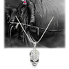 Crystal Skull Skeleton Necklaces & Pendants