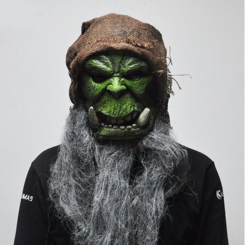 Orcs Scary Latex Mask for Halloween