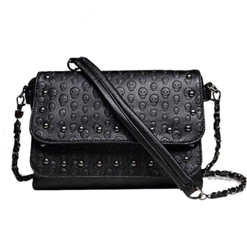 Hot Selling Women's Skull Shoulder Bag
