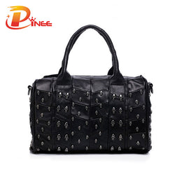 Top Fashion Genuine Leather Skull Bag