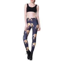 Women's Sexy Skull Leggings
