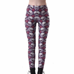 Hot Fashion Women's Skull Leggings