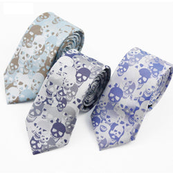 Brand New Fashion Skull Necktie