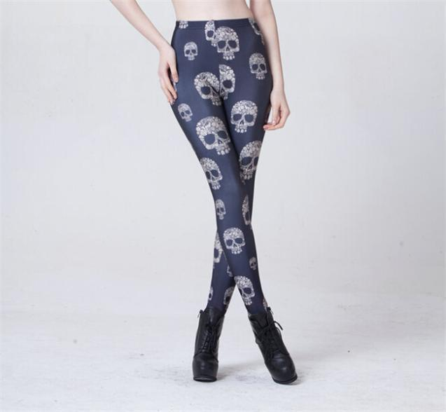 Women's New Arrival Skull Leggings