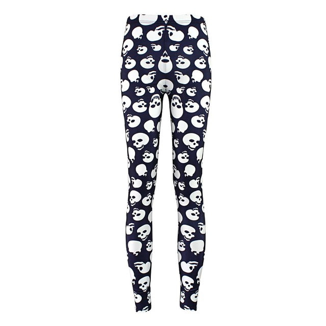 New Fashion Skull Women's Leggings