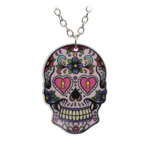 Impressive Colorful Skull 16
