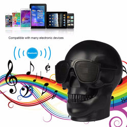 Wireless Portable Skull Shaped Bluetooth Speaker