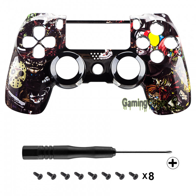 Scary Skull Faceplate for Playstation PS4 Pro Slim Controller