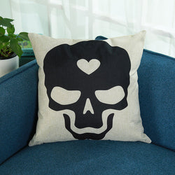 Astonishing Skull Cushion Cover