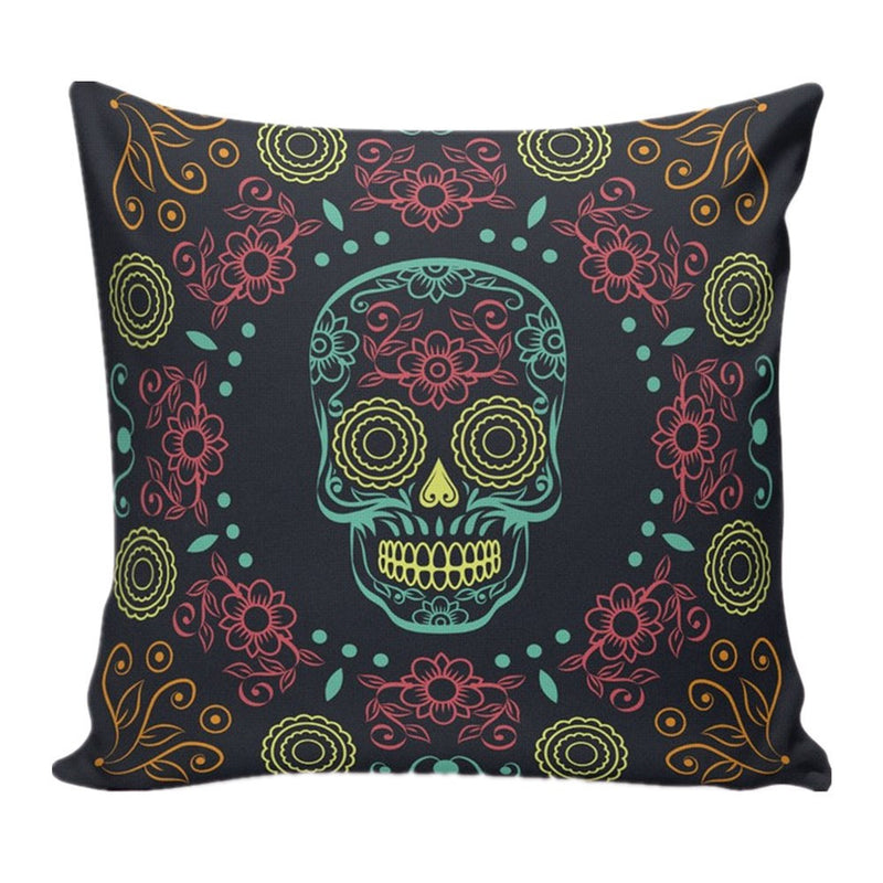 Skull Cushion Cover
