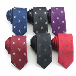 Hot Selling Fashionable Men's Skull Necktie