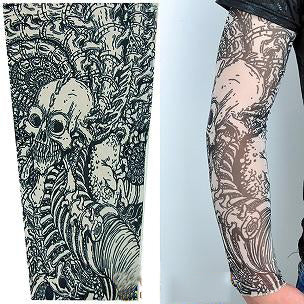 Fashionable Temporary Sleeve Tattoo